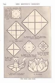 serviette folding rose