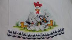 Galinha com ovos | Nuza Artes | Elo7