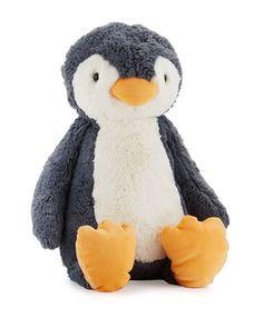 Z1SQX Jellycat Huge Bashful Penguin Stuffed Animal, Black/White