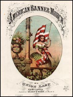 Civil War sheet music