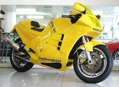First and only Lamborghini motorcycle