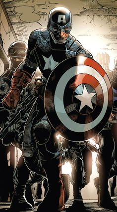Captain America by Jim Cheung