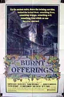 Released in 1976, Burnt Offerings is a classic haunted house story stars the most lovely Karen Black. Karen Black was one of my mother's favourite actresses which is why I am particularly fond of it.