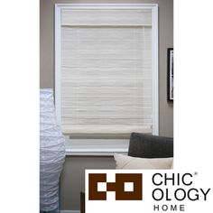 @Overstock - Chicology Arden Sandy Beach Roman Shade - This Roman shade is made of a sheer fabric and comes with a built-in valance for a complete look. Stylish yet functional, these Roman shades are capable of being installed as an inside mount or outside mount with all mounting hardware included. http://www.overstock.com/Home-Garden/Chicology-Arden-Sandy-Beach-Roman-Shade/8309607/product.html?CID=214117 $54.99