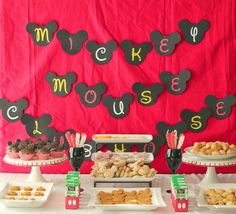 Mickey Mouse clubhouse party ideas