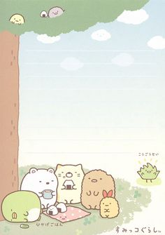 "San-X Sumikko Gurashi ""Outdoors"" Memo #2 