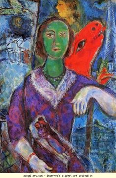 Marc Chagall. Portrait of Vava (Portrait de Vava).