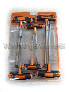 Set 6 destonilladores Mango T Hex Bahco 903T-1 #herramientas #bricolaje
