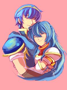 wasnt too happy with this :/ Marth X Caeda Fire Emblem Marth, Fire Emblem Shadow Dragon, Queen Of Fire, Princesa Zelda, Deer Girl, Fire Emblem Characters, Character Home, The Shepherd, True Love