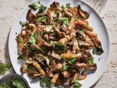 If you're a mushroom-lover, this is the pasta dish for you. It's chock-full of three kinds of fresh mushrooms (2 pounds of them) that con...