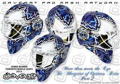 More than meets the Eye - The Blueprint of Optimus Reim Part 2 - James Reimer, Toronto Maple Leafs, NHL, 2013