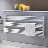 Horizontal and electrival radiators - also in colours - Towel rails and Bathroom styles