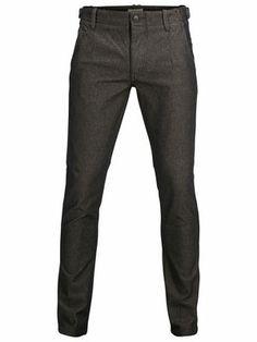 Two Geo herringbone pants C - Selected