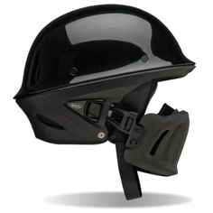 """Combine a motorycle helmet and a battle-ready urban assault helmet and you've got the formula for Bell's latest creation, the Rogue. The helmet uses a polyurethane """"muzzle"""" that's an ideal piece of armor against mother nature, especially when riding on long journeys. The muzzle also features a FidLock magnetic connection system that makes attaching and removing the muzzle easy as pie"""