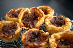 These butter tarts are known to make people swoon. Drippy and delicious, they're an ooey gooey treat everyone will love. Snack Recipes, Dessert Recipes, Cooking Recipes, Snacks, Desserts, Canadian Butter Tarts, Pie Dessert, Family Meals, Cravings