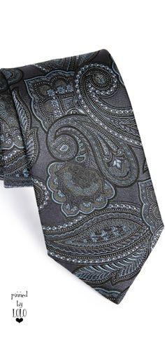 Ermenegildo Zegna Woven Silk Tie ༺ß༻ Sharp Dressed Man, Well Dressed Men, Gift Guide For Him, Designer Ties, The Ultimate Gift, Elegant Man, Men's Fashion, Fashion Menswear, Dress For Success