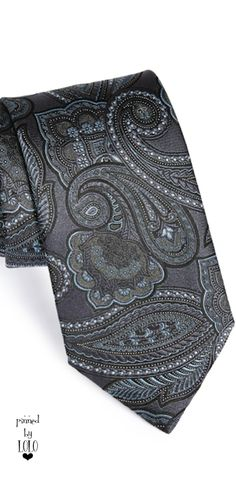 Ermenegildo Zegna Woven Silk Tie | LOLO❤︎