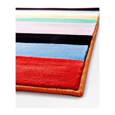 Colorful rug  RANDERUP Rug, low pile  - IKEA