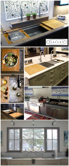 "Kitchen Ideas Tulsa Galley Sink international chef shannon smith says, ""the galley sink in my"