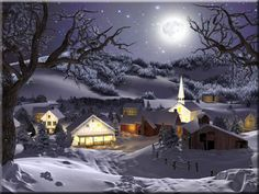 winter wonderland animation