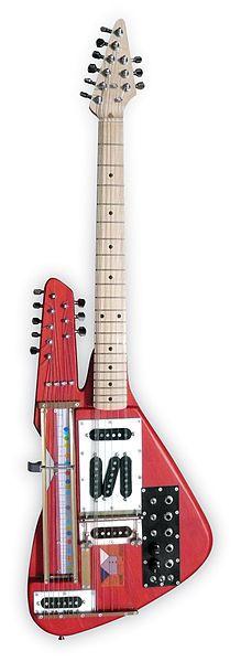 Finn Andrews' Burner Harp Guitar
