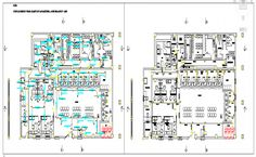 Bank office building architecture layout plan details dwg file - Cadbull Office Layout Plan, Office Plan, Floor Plan Layout, Architecture Layout, Office Building Architecture, Banks Office, Banks Building, Building Layout, Reception Areas
