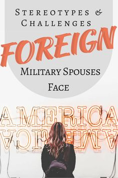 """No matter how far away we are from our families, our culture, our history, our world, foreign military spouses—just like all military spouses—are resilient. Military Girlfriend, Military Love, Military Spouse, Military Veterans, Navy Wife, Military Discounts, Significant Other, Families, Culture"