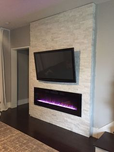 I am so excited to share the rest of my story on building a fireplace surround for our fireplace. As mentioned in an earlier post, I purchased an electric, wall-mount fireplace and installed it man… #homeentertainmentinstallation