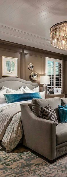 Bedroom design by Toll Brothers