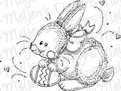 Easter Bunny - Meljen's Designs