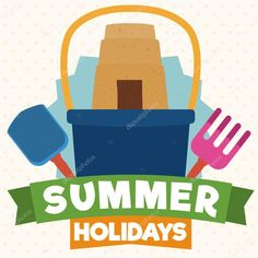 Summer Elements Ready to Have Fun in this Holidays, Vector Illustration Free Summer, Have Fun, Holidays, Illustration, Holidays Events, Holiday, Illustrations, Vacation, Annual Leave