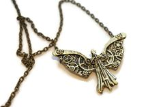 Tessa's Clockwork Angel Necklace Infernal Devices by BookishAmour