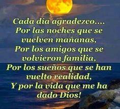 Frases Bonitas Para Facebook: Oracion A Dios En La Noche     #mensajesdeDios                                                                                                                                                                                 Más