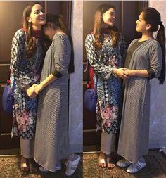 Arisha Razi with Minal Khan ♥ Pakistani Movies, Pakistani Actress, Black Women Fashion, Girl Fashion, Fashion Outfits, Beautiful Pakistani Dresses, Beautiful Dresses, Stylish Dresses, Stylish Outfits