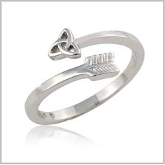 Celtic Arrow Ring  a good birthday present, too bad idk my ring size