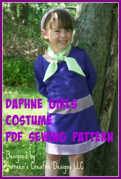 Scooby daphne doo adult costume