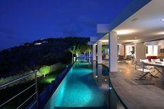 Relaxation Overflow: Zen Nirvana Rental Villa in St. Barts #architecture