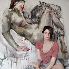 Originally from Ottawa, Elly Smallwood graduated from OCAD University in 2011 and now works as an artist in Toronto. Her paintings are intensely personal, a visual exploration of her mind and body, and those of the people around her. Topics Discussed In This Episode: Female sexuality in art The ephemeral feelings involved while painting Ron Mueck's sculptures The business of art Pricing artwork Nymphomaniacs www.elly.ca