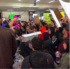 "On Saturday night Mayor Mike Rawlings voiced his opposition to the president's executive order limiting immigration and refugee resettlement, which was causing chaos at DFW International Airport. At an impromptu press conference at the Omni Dallas, Rawlings said he was ""deeply distressed"" at the ongoing situation at the airport, where 50..."