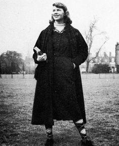 Sylvia Plath at Cambridge