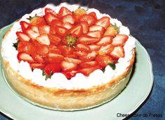 Receta para preparar Cheesecake de Fresas bajo en Azúcar (receta para personas con Diabetes) en SazonOnline, con el detalle de los ingredientes, instrucciones del paso a paso y fotos.