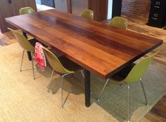 Milo Baughman Mid-Century Modern Dining Table in Williamsburg, Brooklyn, NY, USA ~ Krrb
