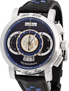 Paul Picot Technograph FC Internazionale Limited Edition Chronograph. Only 2008 pieces ever made.