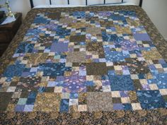 Birds of a Feather lap quilt by MountainQuilts on Etsy, $150.00