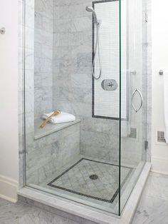 smallish shower?