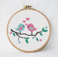 Resultado de imagen para pattern tree with birds etsy