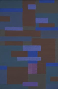 Ad Reinhardt (American, Abstract painting, Oil on canvas, x cm. Abstract Geometric Art, Contemporary Abstract Art, Ad Reinhardt, Hard Edge Painting, Painting Abstract, Colour Field, Op Art, American Artists, Abstract Expressionism