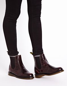 Buy Dr Martens Kensington Flora Burgundy Chelsea Boots at ASOS. Get the latest trends with ASOS now. Dr. Martens, Botas Doc Martens, Doc Martens Stiefel, Red Doc Martens, Doc Martens Style, Chelsea Boots Outfit, Chelsea Boots Style, Leather Chelsea Boots, Dr Martens Chelsea Boot