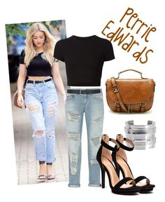 """Perrie Edwards"" by shards-of-light ❤ liked on Polyvore featuring Pieces, rag & bone, Getting Back To Square One, M&Co, Retrò, women's clothing, women's fashion, women, female and woman"