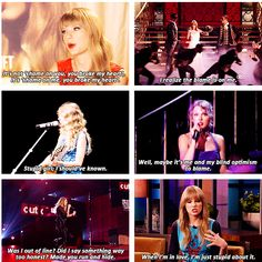 """Has Taylor Swift ever considered that maybe she's the problem?"" YES, YES SHE HAS"